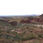 More views of the painted desert Blue Mesa area.