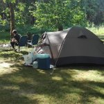 Our camping spot...