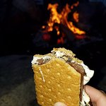 S'mores every night by the fire pit