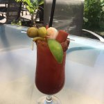 A caesar...the perfect appie.