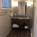 Newly renovated bathroom Normandy Inn 6-27-17