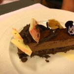 A delicious chocolate dessert