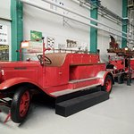 The earlier era of how the old firetruck or fireengine looks like.