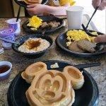 Mickey Waffles? Yumm... YES please!!!!