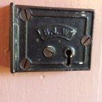 Detail in Lady Hope room