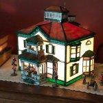 Miniture model of Vinifera Inn