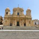 Beautiful Baroque cathedral at Noto