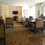 Club Level Lounge, located on Mezzanine level