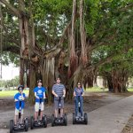 First time my boys have been on a segway.