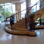 nice lobby and friendly staff