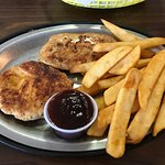 Two-Piece Grilled Chicken with Steak Fries