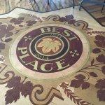 Beautiful inlayed floor