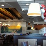 Interior of this Oshawa Swiss Chalet