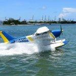 Takeoff, water runway!