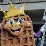 Sir Wafflelot, our Waffle King