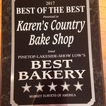 Thank you for voting us Best Bakery 😊