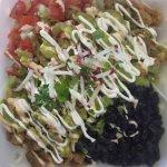 RANCHERO SALAD $7.50 Fresh lettuce, black beans  pico de gallo, mozzarella cheese  Sour cream,