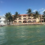 Banana Beach hotel from the water