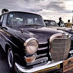 Vintage Benz - airport transfer