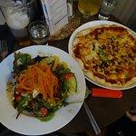 Pizza & Salad