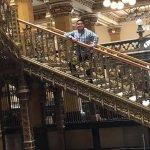 escaleras del palacio postal