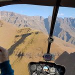 Amphitheatre Helicopter flip a MUST do! - well worth the once in lifetime trip