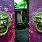 Our front doors, welcomes you to The Hutong - Culture Exchange Center