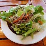 Salad with Pumpkin Seed Oil