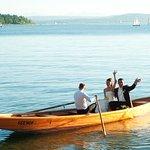 Heiraten im Hotel Seehof_Gartentrauung und Hochzeitsboot