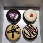 The cupcakes I opted for