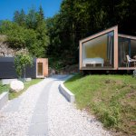 Family glamping amidst untouched nature