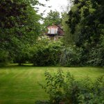 I took this midway down the garden. It stretches back a lot further.
