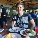 Ресторан Шалаш , наше излюбленное место ! Самые вкусные чебуреки Крыма!