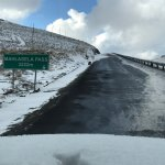 On the road to Afriski