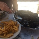 Moules Frites ~ Mussels Bouzzara!