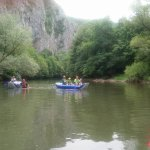 Rafting on the local river!