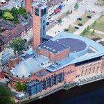 Picture of the Tower and Royal Shakespeare Theater