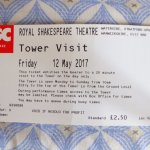 Admission Ticket to RSC Tower