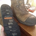 The tread on my boots BARELY made it through the screening. Make sure you have great tread!