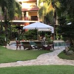 Hotel grounds are maintained.  The Friendly staff was very attentive to our needs.  Food was ama