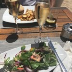 Lunch and Prosecco