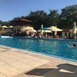 Aqua park som tilhører hotellet
