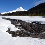 Mount Hood with Creek