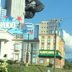 our window overlooked kong hotel is walking distance from wax museum