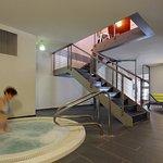 Entspannende Momente im hoteleigenen Whirlpool geniessen.