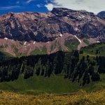 Mountain panorama Adelboden by photo stitching :)