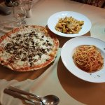 Pizza and Pastas