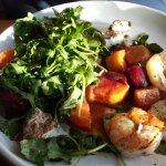 Roasted Beet Salad w/Shrimp