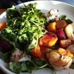 Roasted Beet Salad w/Shrimp