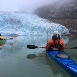 Kayak en Patagonia Foto